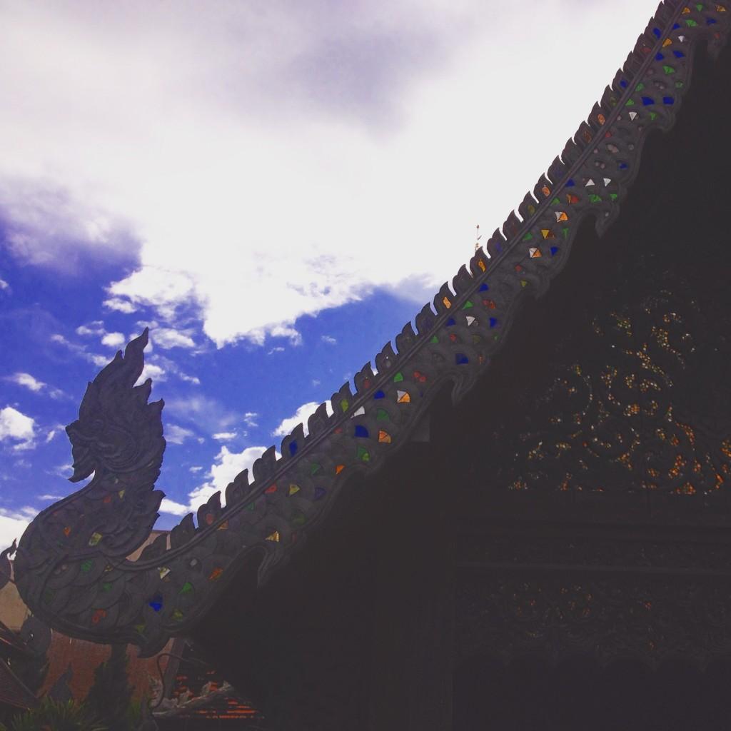 Uno dei bellissimi templi che si possono visitare a Chiang Mai.