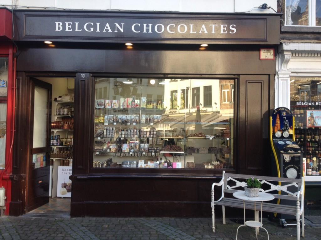 Cioccolateria, Anversa @oltreilbalcone