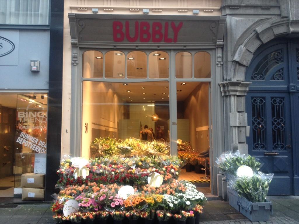 Bubbly, negozio di fiori. Anversa @oltreilbalcone