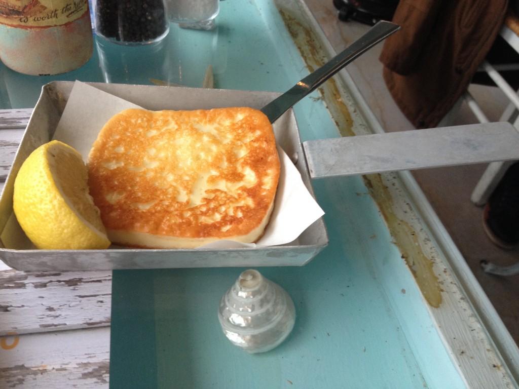 Saganaki, formaggio fritto