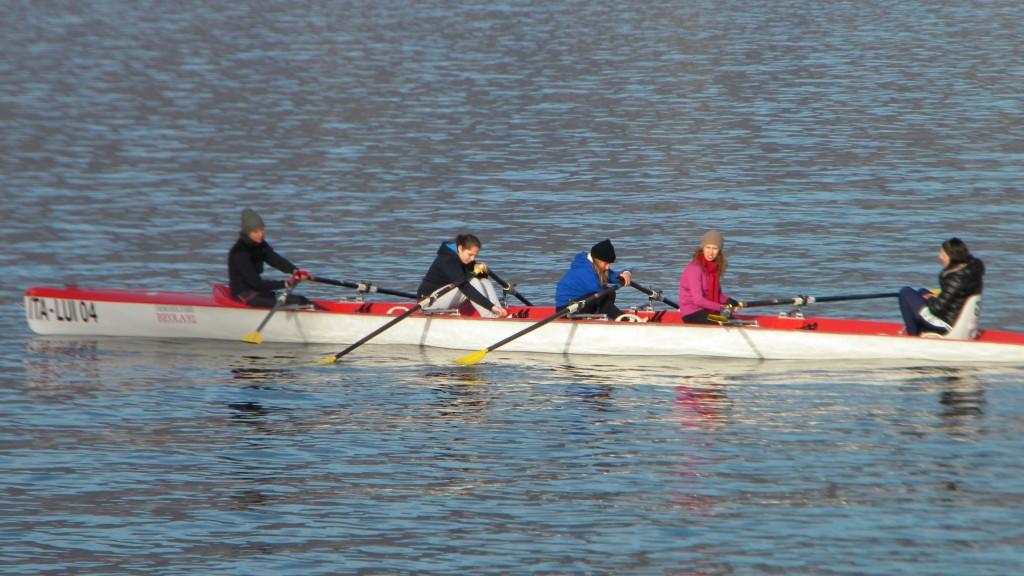 Canottieri Luino, preparazione prima della partenza @oltreilbalcone