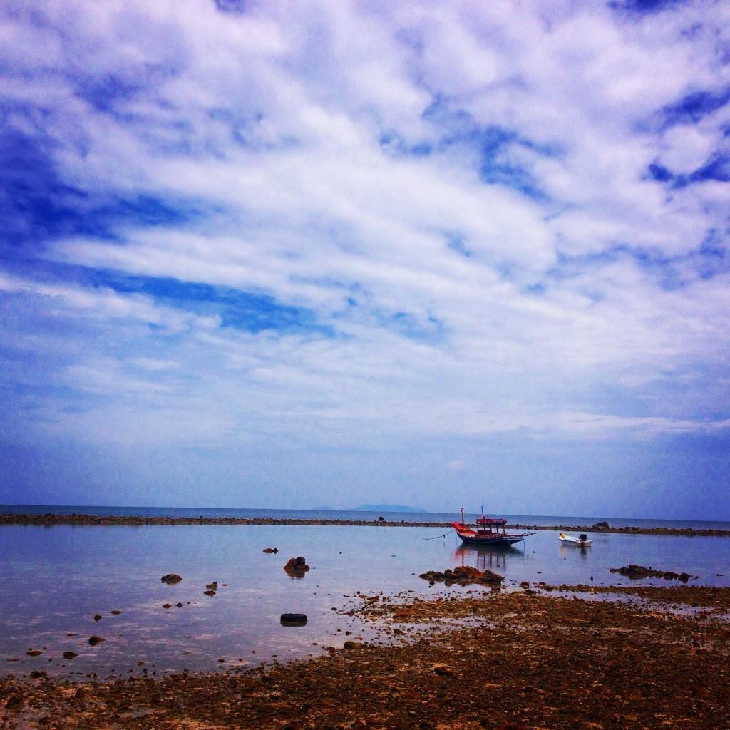 Il fenomeno della bassa marea, Ko Phangan