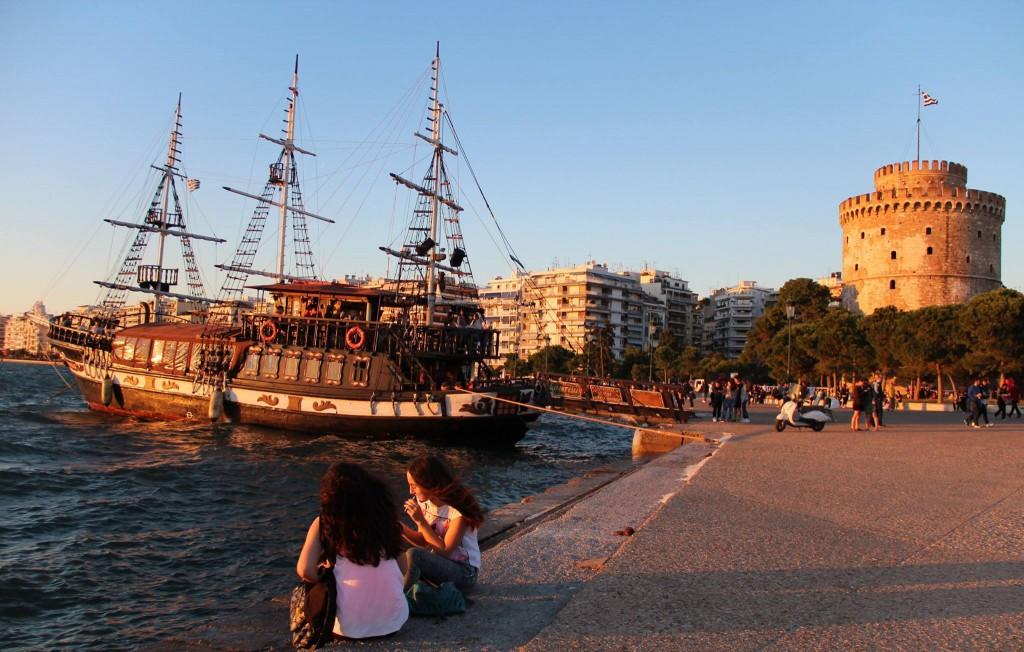 La Torre Bianca e il lungomare di Salonicco @OndeRoad