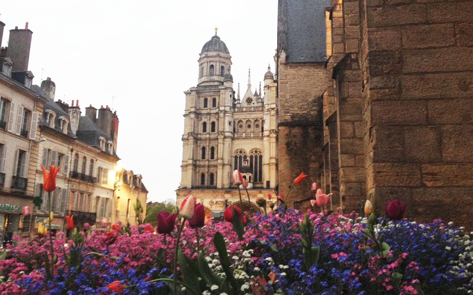Digione, sullo sfondo Saint-Michel.
