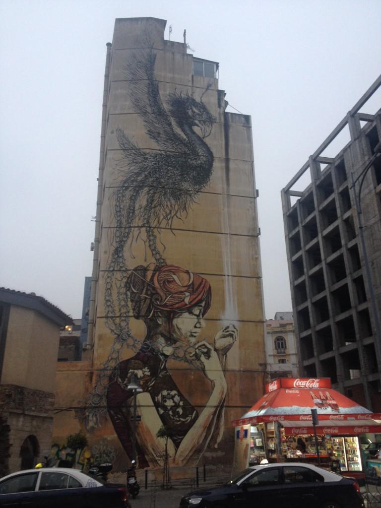 Street art a Salonicco @oltreilbalcone