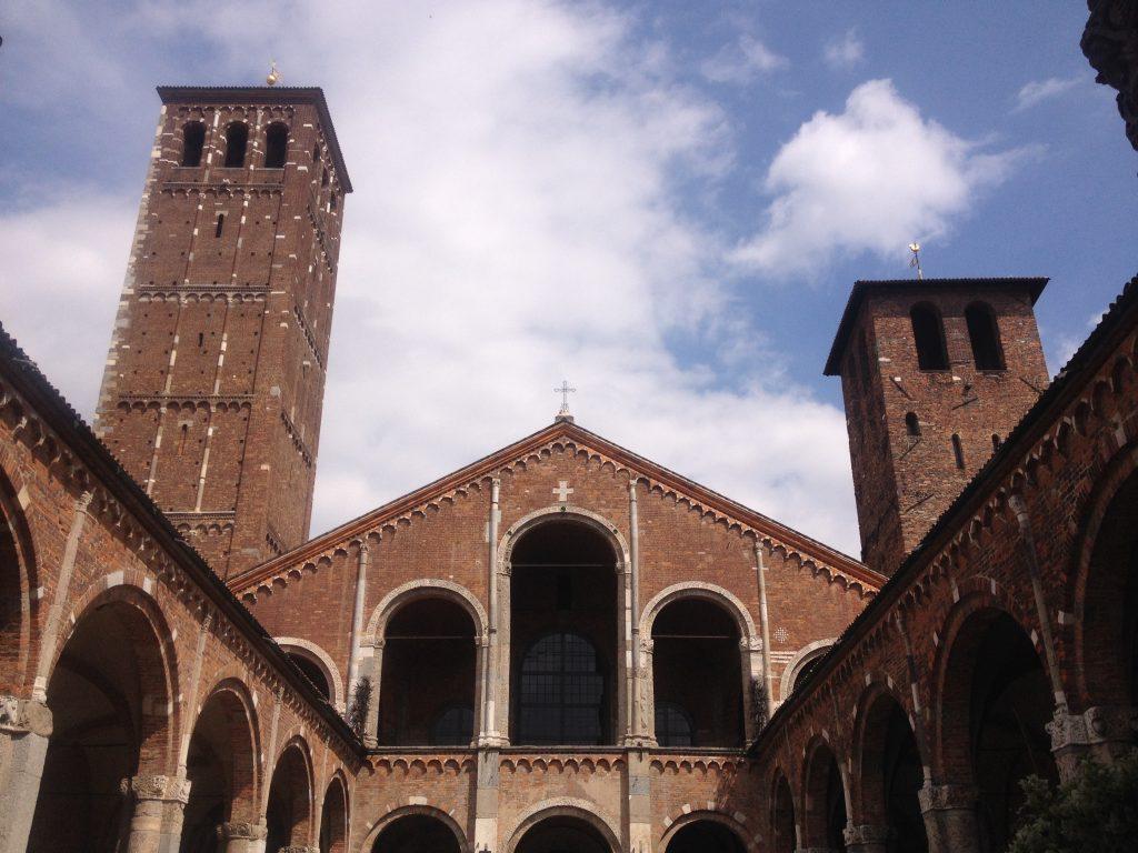 Basilica di Sant'Ambrogio, Milano @oltreilbalcone