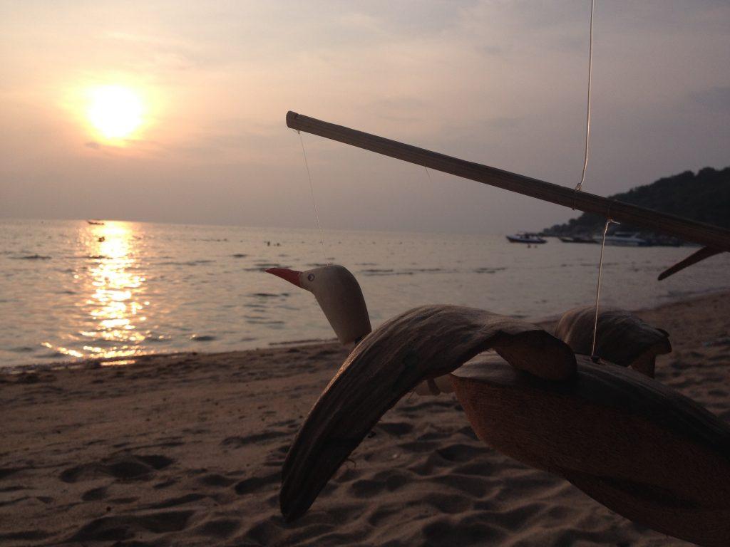 Ko Tao al tramonto