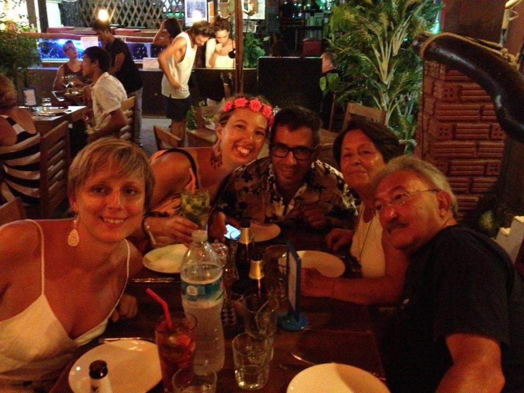 Cena con amici al Barracuda Restaurant & Bar