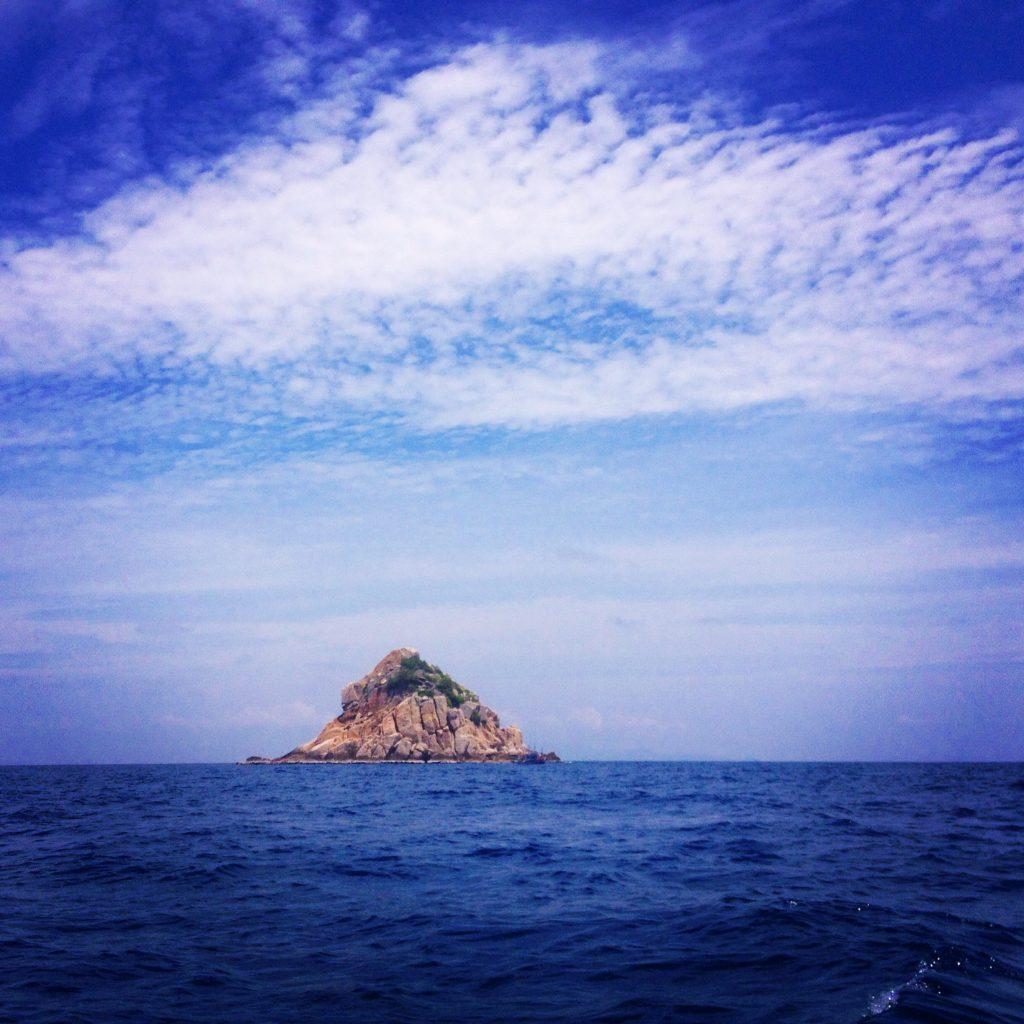 Shark Island, in lontananza @oltreilbalcone