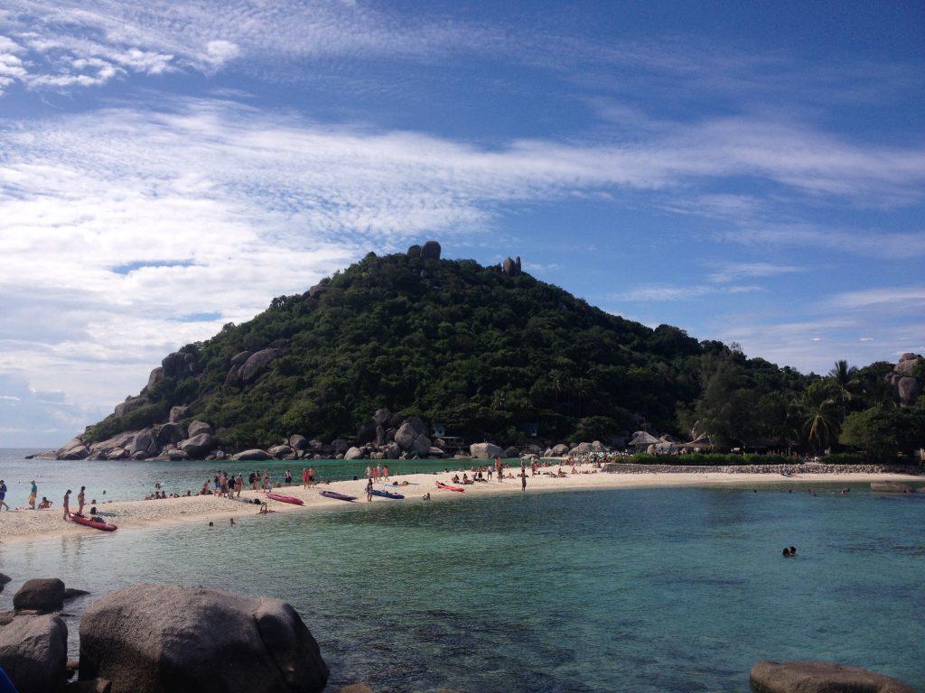 La lingua di sabbia che collega le isole, Ko Nang Yuan @oltreilbalcone