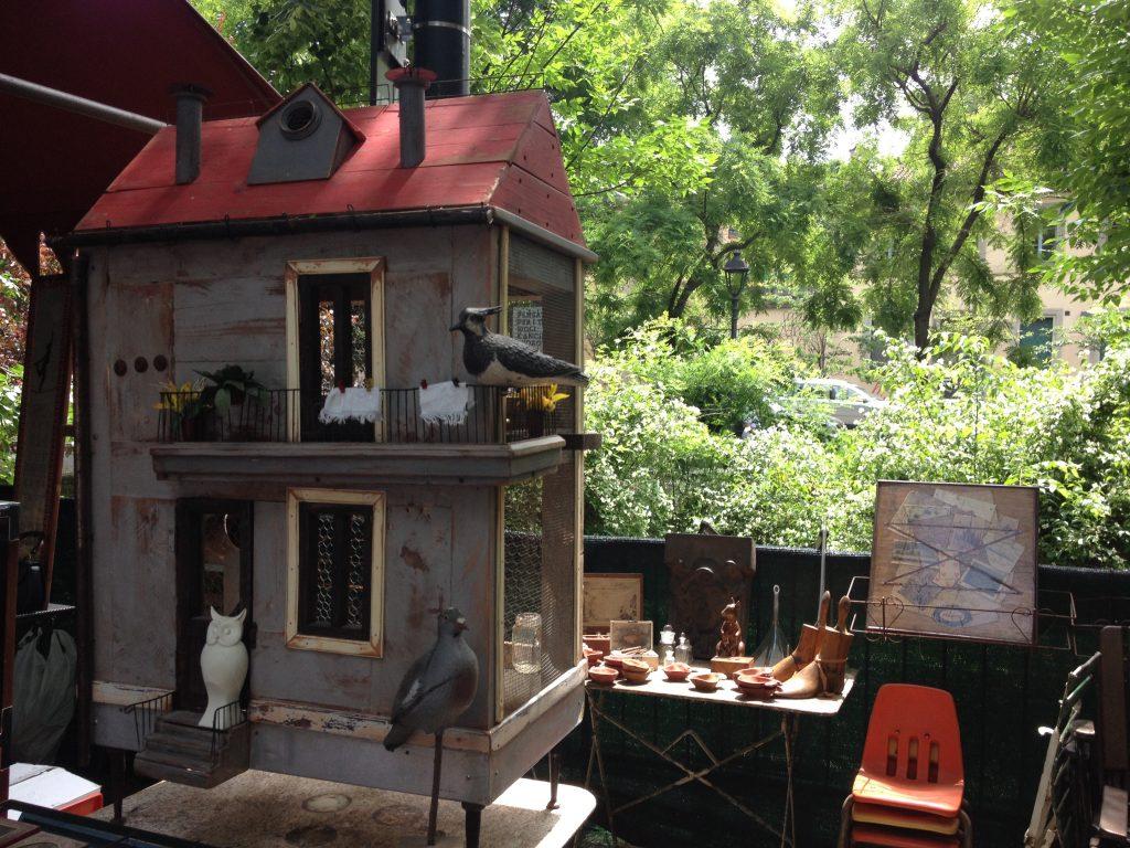 Casetta per gli uccelli, Orticola 2014