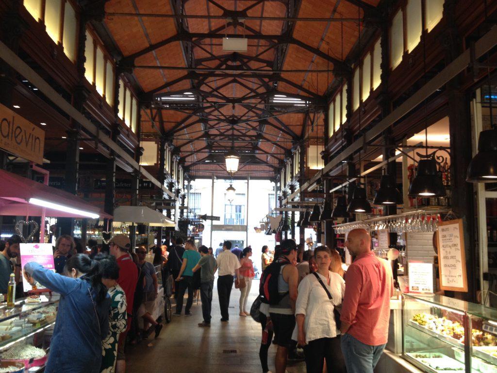 Il mercato San Miguel.