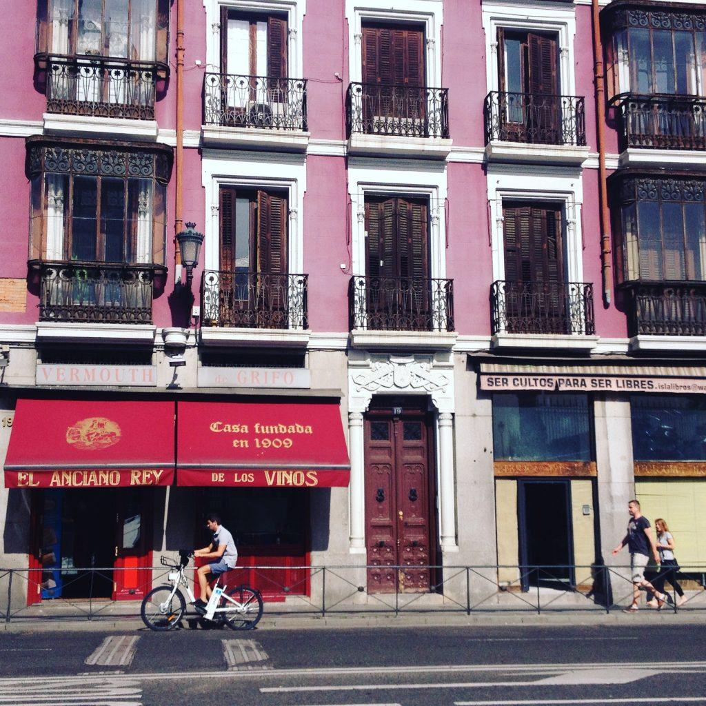 Madrid, scorcio. @oltreilbalcone