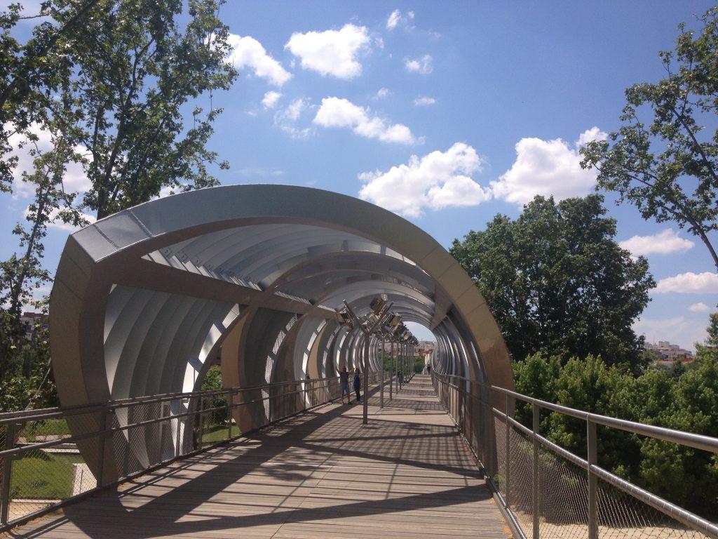Ponte pedonale di Arganzuela.