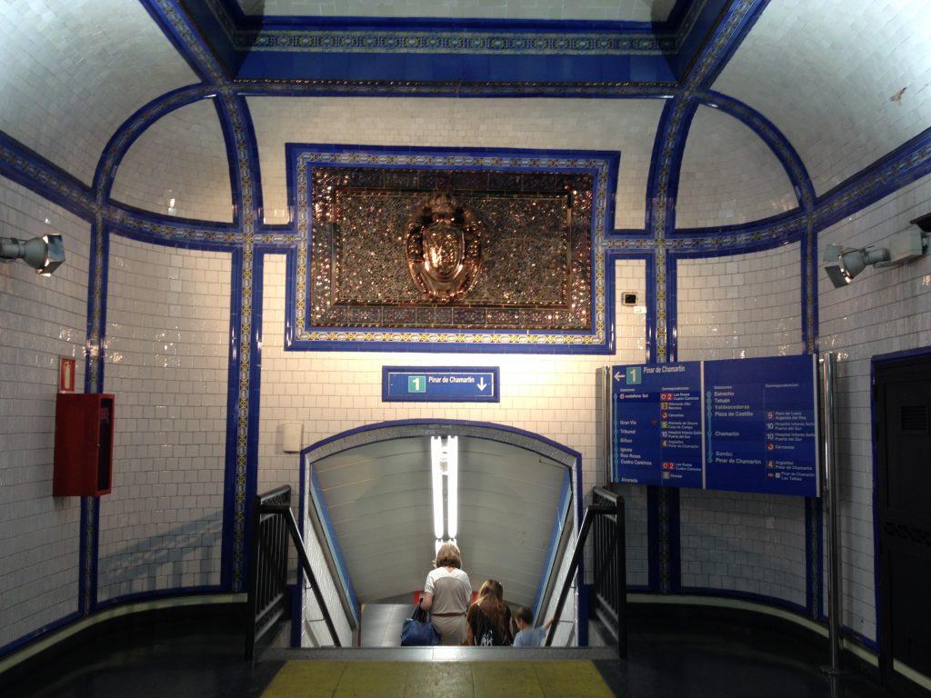 Fermata della metropolitana Tirso de Molina, la mia preferita.