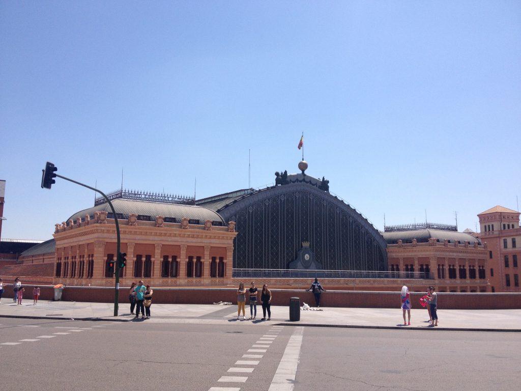 Stazione di Atocha Renfe.