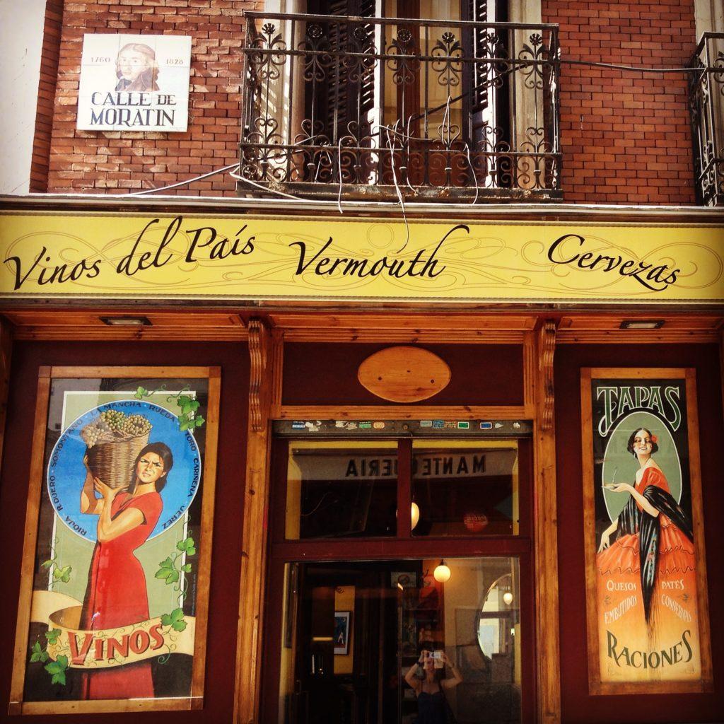 Calle de Moratín.