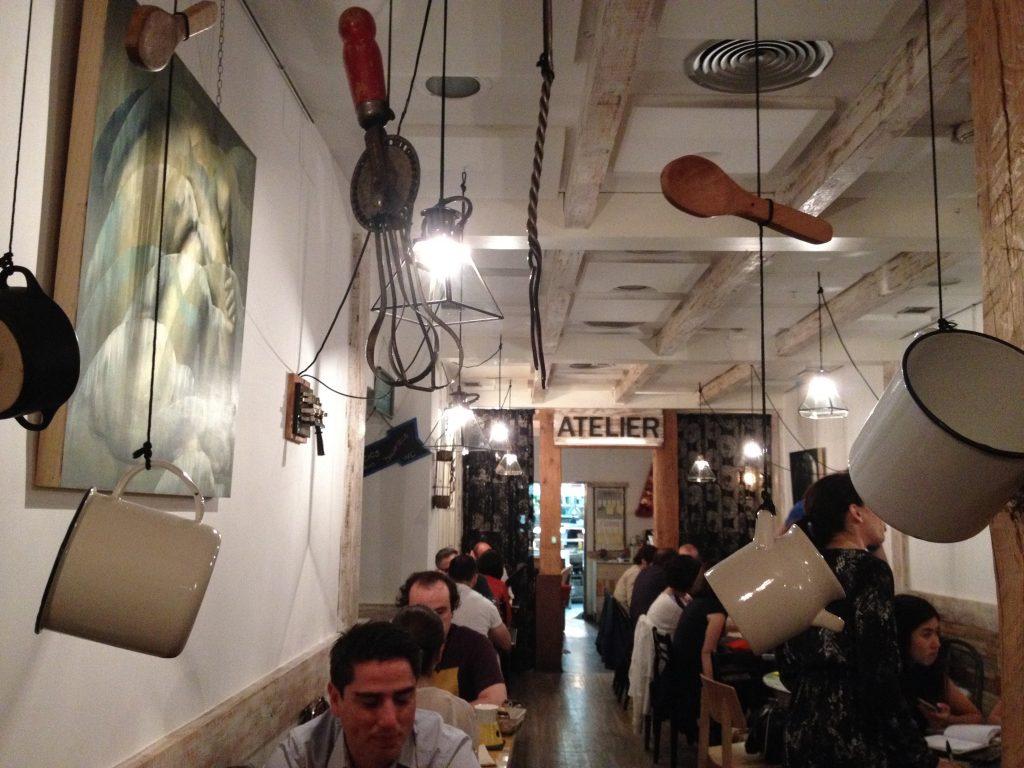 Il ristorante Gastrocroqueteria. @oltreilbalcone