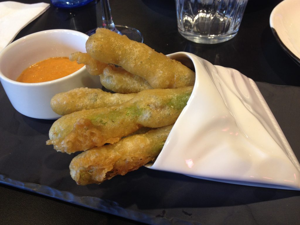 Asparagi in tempura. @oltreilbalcone