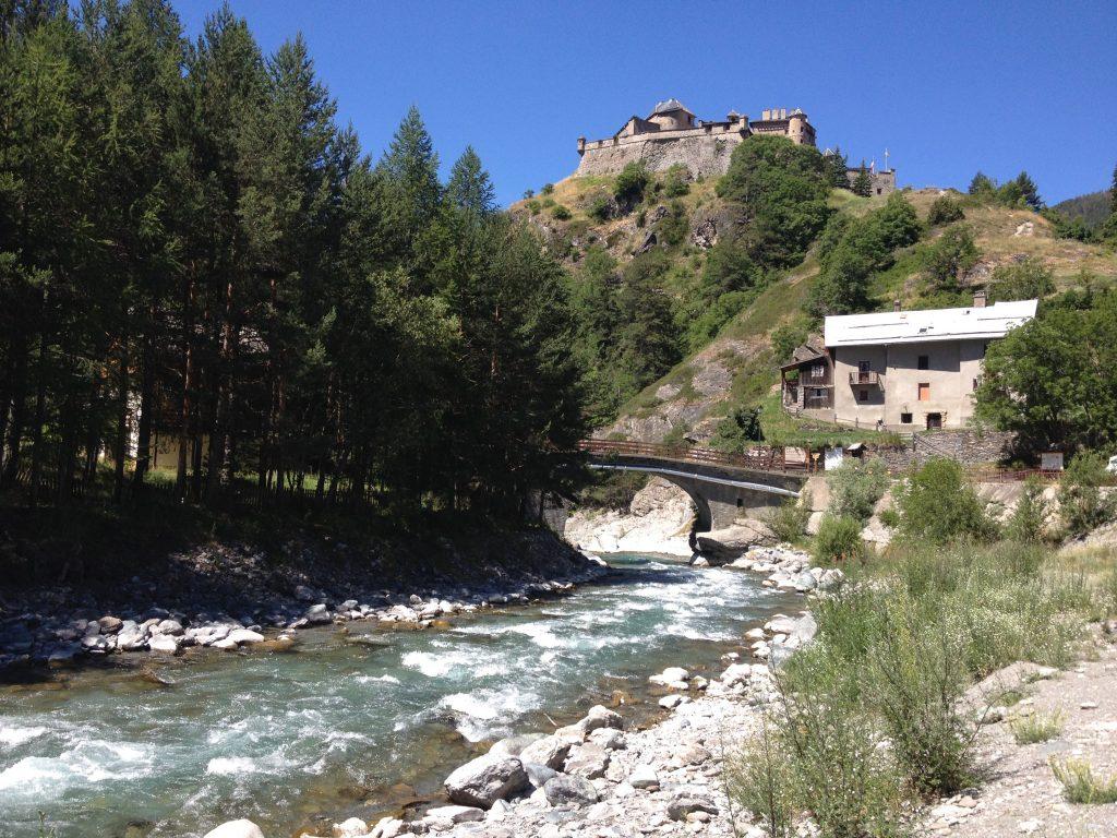 Il fiume Guil. @oltreilbalcone