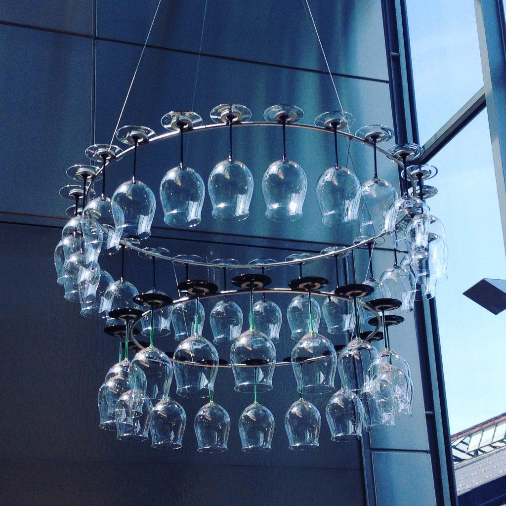 Cristalleria Riedel Glas.