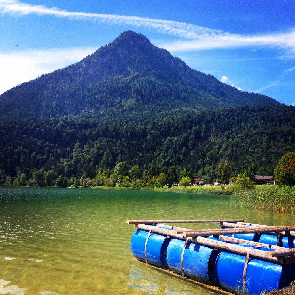 Il lago Thiersee.