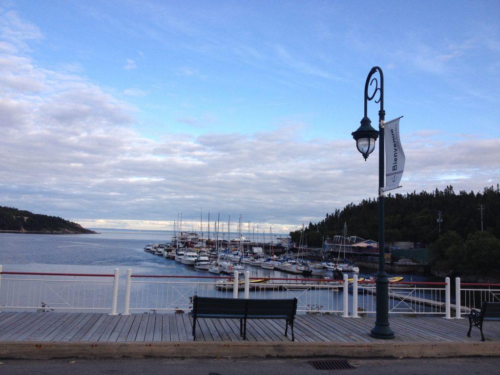 Il porto di Tadoussac.