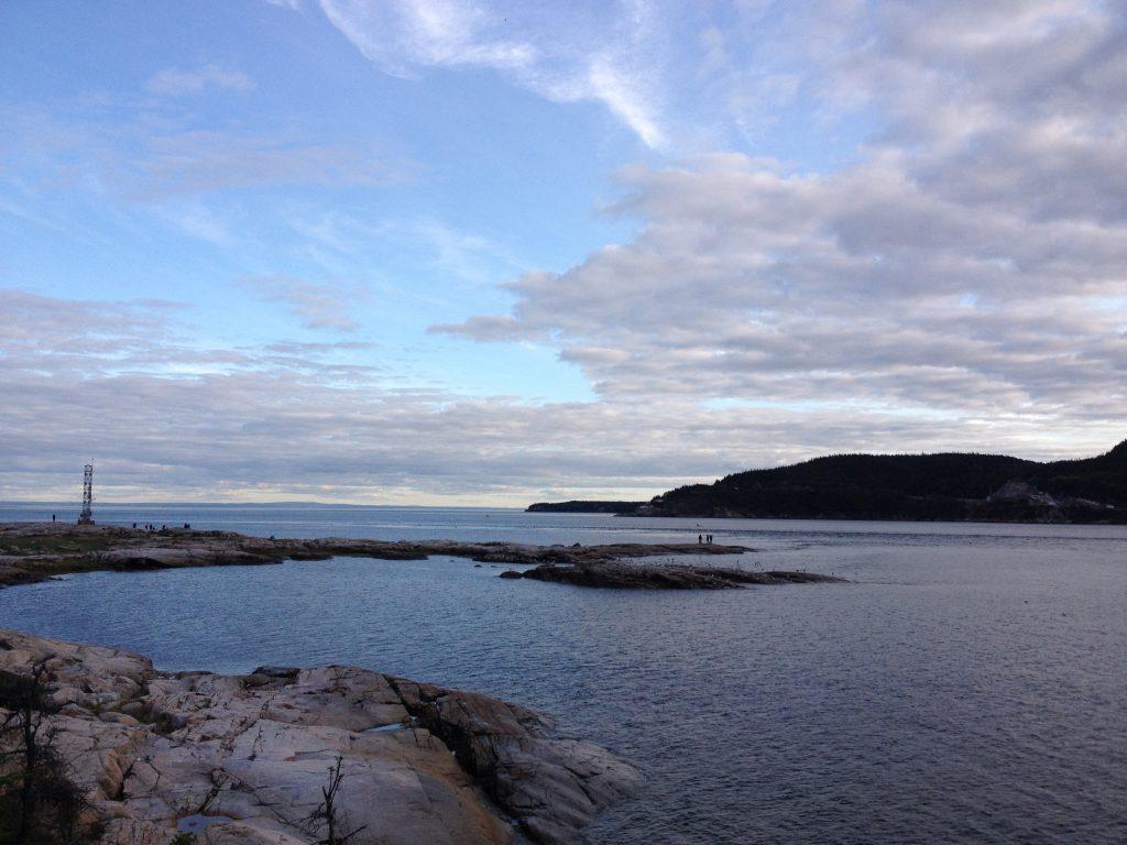 Veduta dal sentiero Pointe-de-l'Islet. @oltreilbalcone