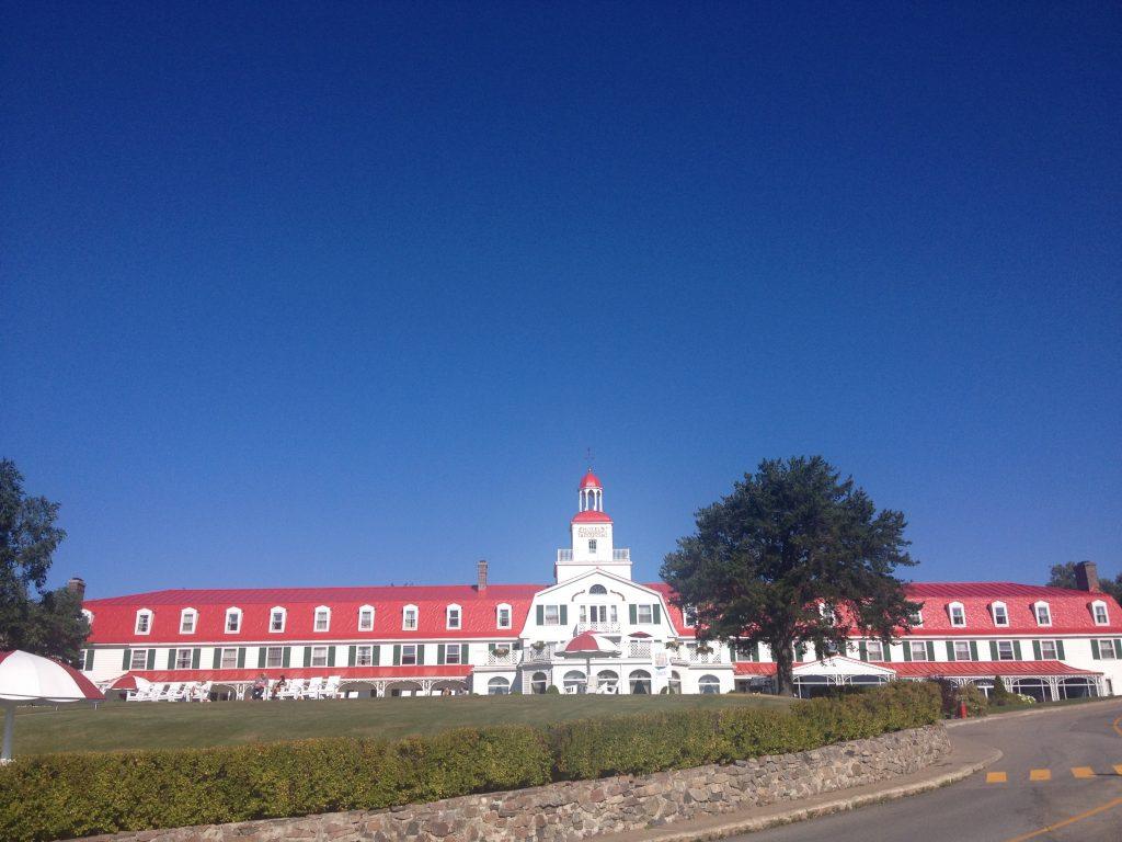 L'Hotel Tadoussac.