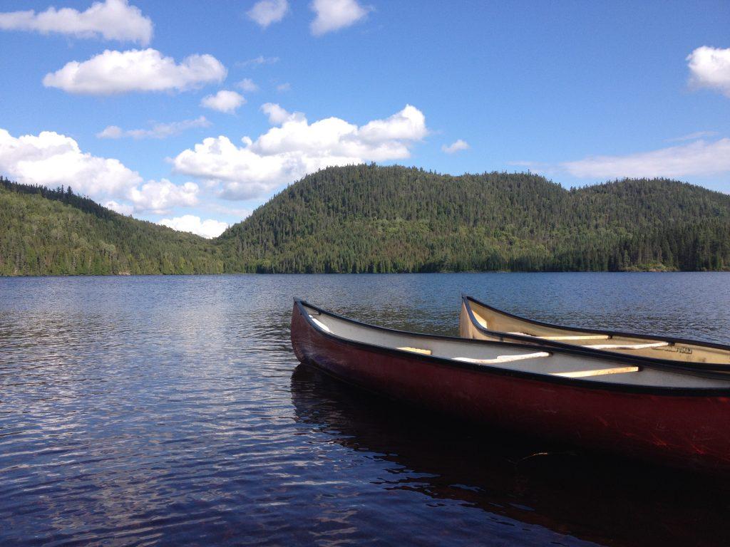 Canoe canadesi, Lac de Sable. @oltreilbalcone