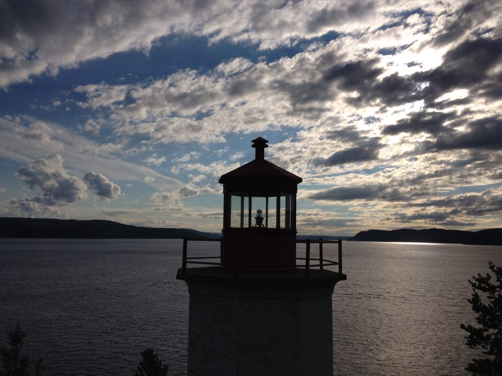 Faro, Parco del Saguenay. @oltreilbalcone