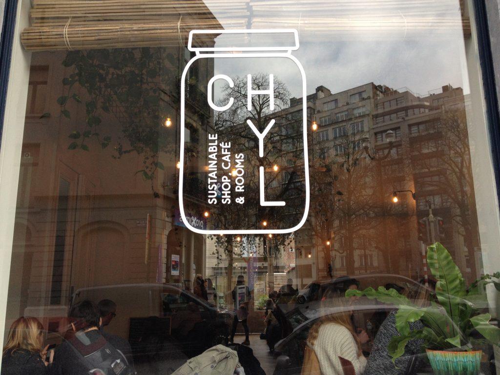 Il negozio Chyl, sustainable shop café. @oltreilbalcone