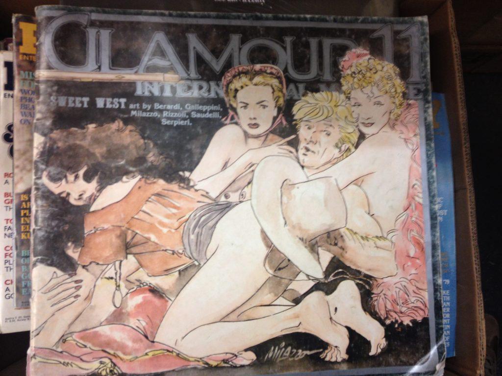Una rivista d'arte ed erotismo nella libreria Nuit de Chine. @oltreilbalcone