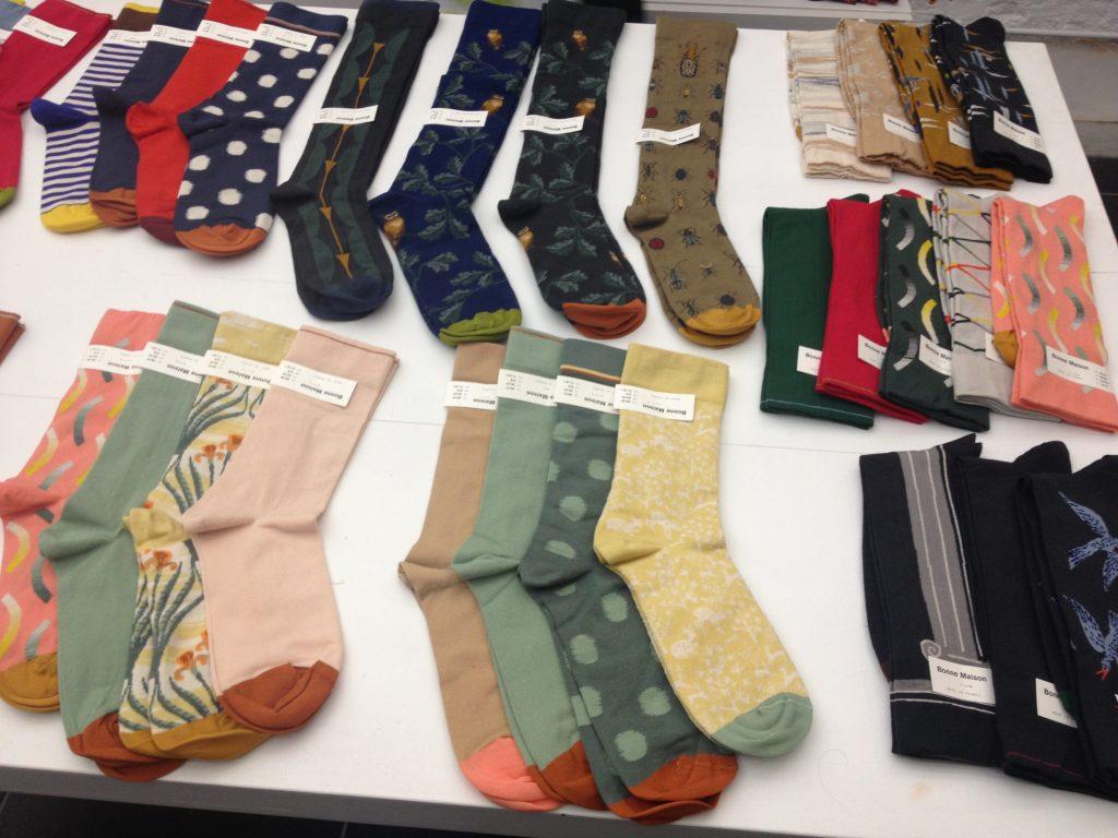 Il negozio di calze Privejoke Socks. @oltreilbalcone