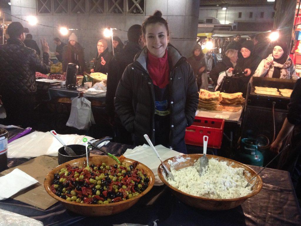 Claire e le sue meravigliose crepe al Marché du Midi. @oltreilbalcone