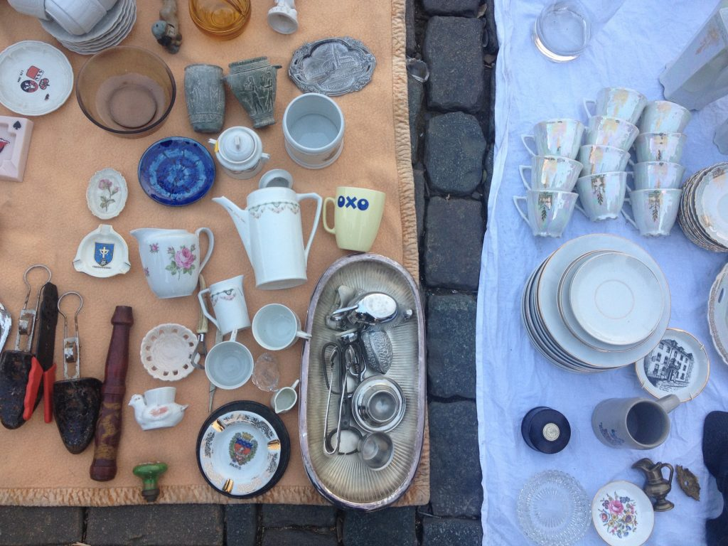 Il mercato delle pulci di Bruxelles. @oltreilbalcone