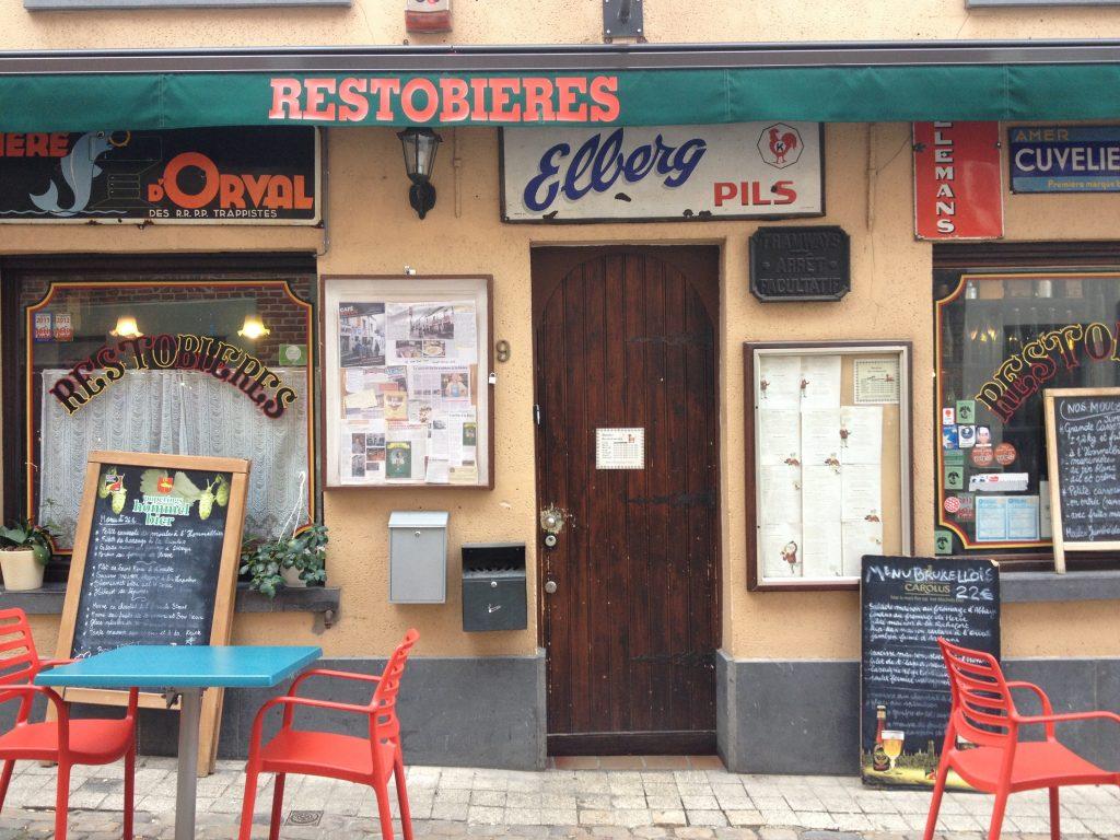 Il ristorante Restobieres. @oltreilbalcone
