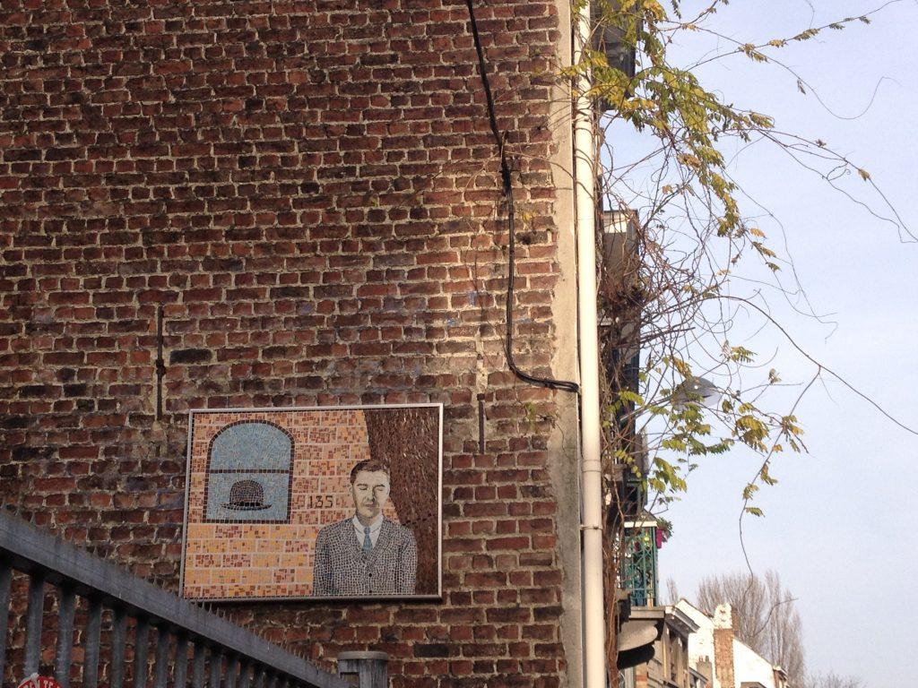La casa museo di Magritte. @oltreilbalcone