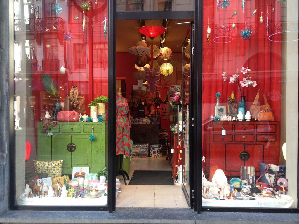 La boutique cinese Rouge. @oltreilbalcone