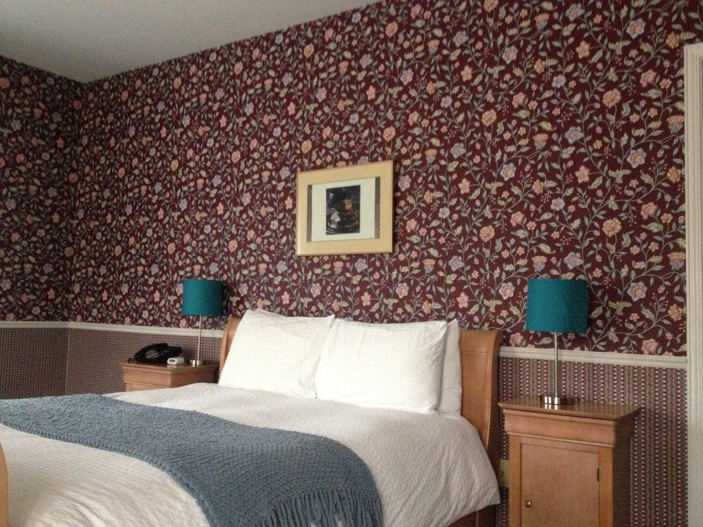 La camera da letto de L'Auberge La Chocolatière.