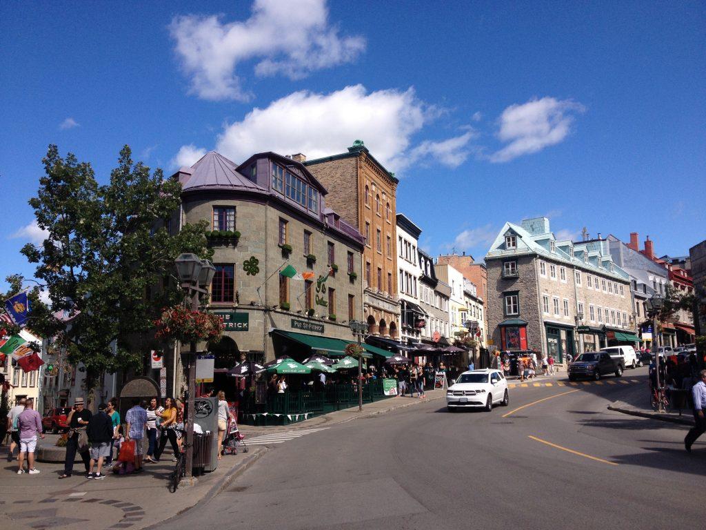 Uno scorcio della Città Vecchia alta di Québec.