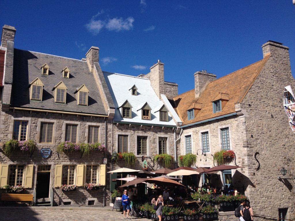Place Royale, nella Città Vecchia bassa di Québec.