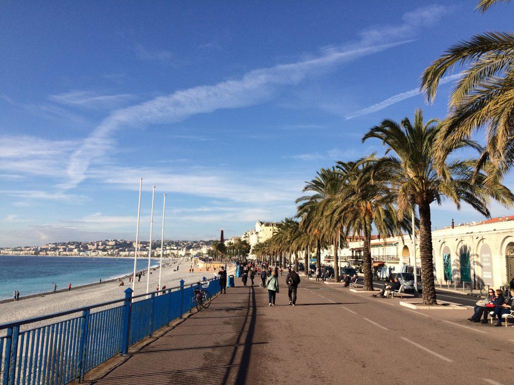 Scorcio della Promenade des Anglais.