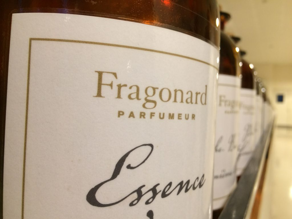 Le essenze Fragonard.