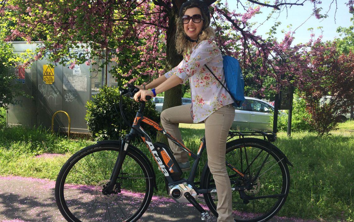 e-bike Corinna Agostoni