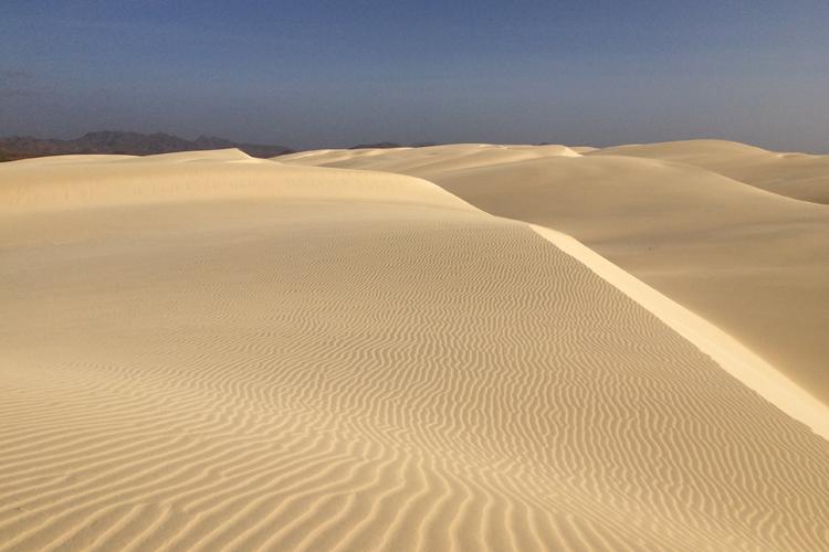 Le dune del Deserto di Viana a Boa Vista