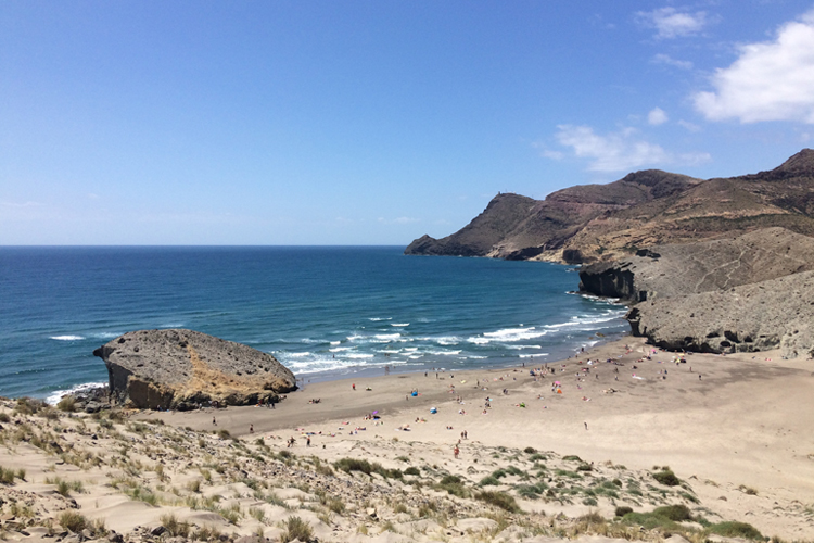 Playa de Monsul Cabo de Gata