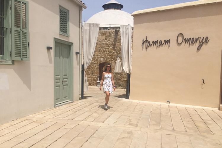 L'ingresso dell'Hamam a Nicosia, Cipro.