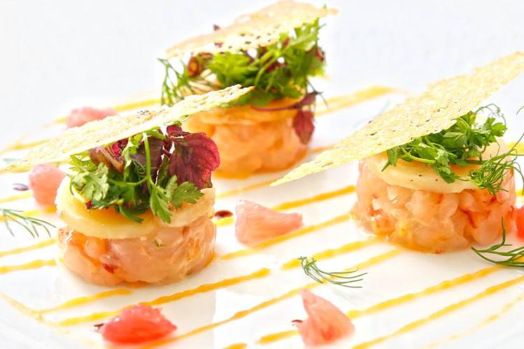 Uno dei piatti preparati dallo chef stellato Ludovic Turac, dove mangiare a Marsiglia