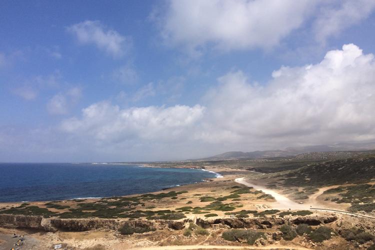 Scorcio del Parco Naturalistico Akamas di Pafos.